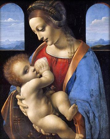 Malen nach Zahlen Bild Madonna Litta - AZ-1527 von Sonstiger Hersteller