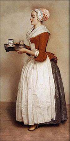 Malen nach Zahlen Bild Das Schokoladenmädchen - AZ-1533 von Sonstiger Hersteller