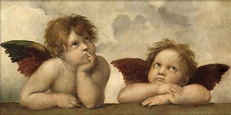 Malen nach Zahlen Bild Kleine Engel - AZ-1535 von Sonstiger Hersteller