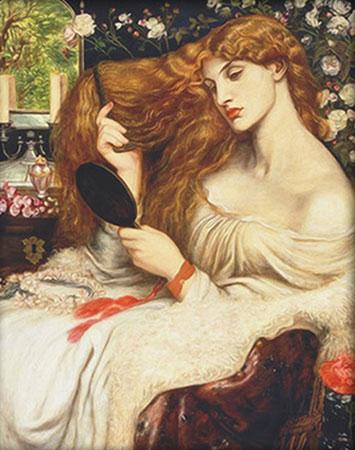 Malen nach Zahlen Bild Lady Lilit, Rossetti - AZ-1537 von Artibalta