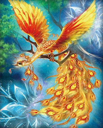 Malen nach Zahlen Bild Der Feuervogel - AZ-1554 von Sonstiger Hersteller