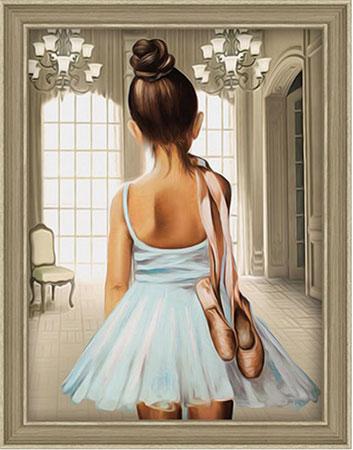 Malen nach Zahlen Bild Balletttänzer - AZ-1559 von Sonstiger Hersteller