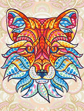 Malen nach Zahlen Bild Fantasy-Fuchs - AZ-1577 von Sonstiger Hersteller