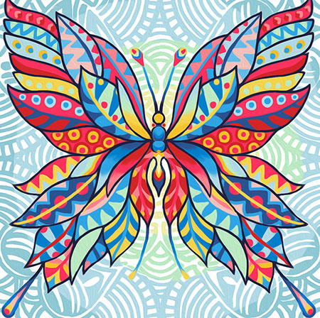 Fantasy-Schmetterling