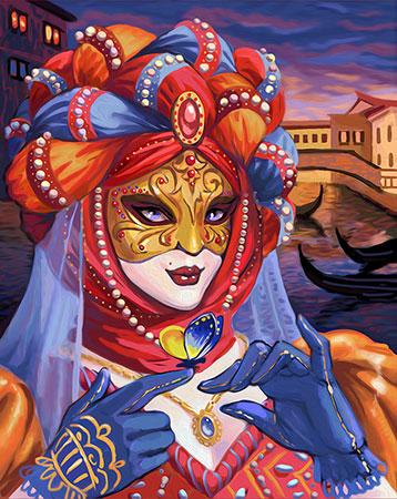 Venezianische Verkleidung
