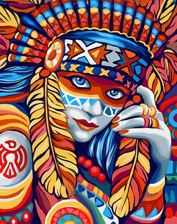 Schöner Indianerschmuck
