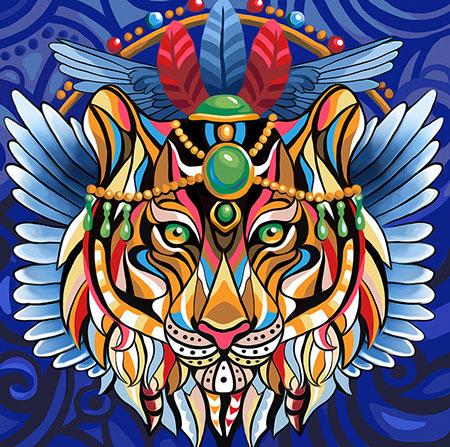 Fantasy-Tiger
