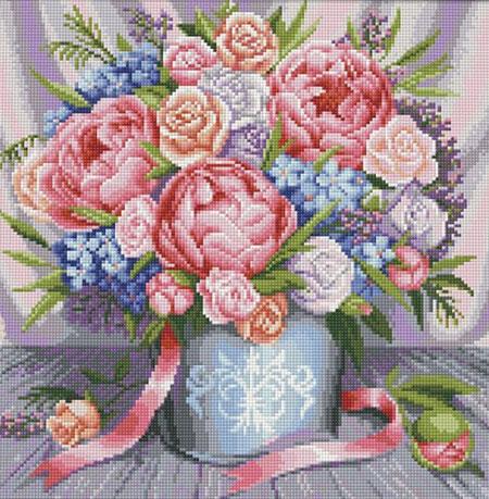 Malen nach Zahlen Bild Ein Traum in Rosa - AZ-1655 von Artibalta