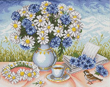 Blumengedeck