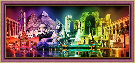 Malen nach Zahlen Bild Die Farben von Ägypten - AZ-1759 von Sonstiger Hersteller