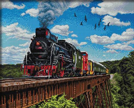 Malen nach Zahlen Bild Der Orient Express - AZ-1797 von Sonstiger Hersteller