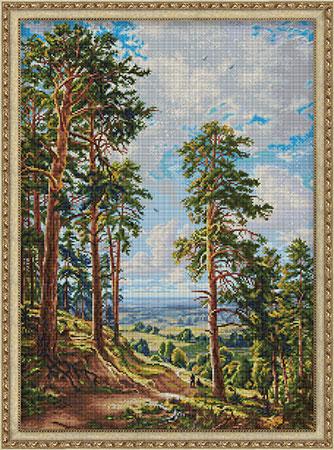 Malen nach Zahlen Bild Das Lied des Adlers - AZ-1814 von Sonstiger Hersteller