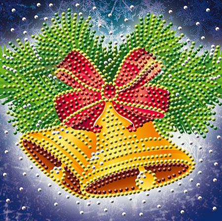 Malen nach Zahlen Bild Weihnachtsglocken - AZ-3013 von Sonstiger Hersteller