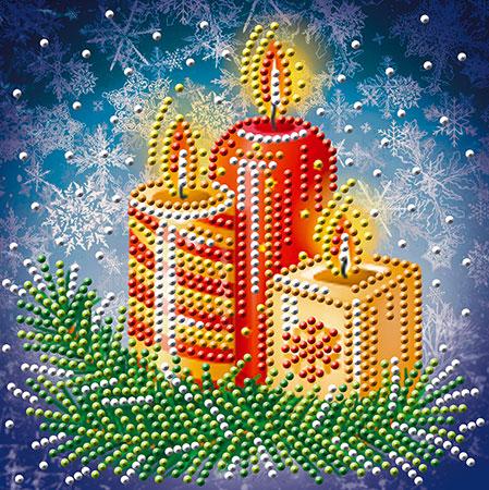 Malen nach Zahlen Bild Weihnachtsgesteck - AZ-3014 von Sonstiger Hersteller