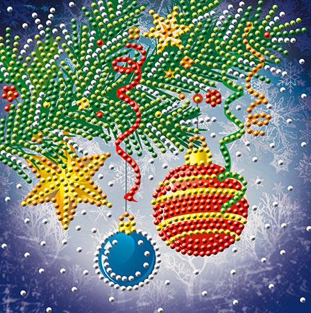Malen nach Zahlen Bild Weihnachtsbaum-Dekoration - AZ-3016 von Sonstiger Hersteller