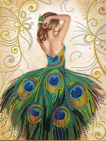 Malen nach Zahlen Bild Märchenhaftes Kleid - AZ-3018 von Sonstiger Hersteller