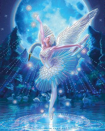 Malen nach Zahlen Bild Magischer Tanz - AZ-3019 von Sonstiger Hersteller