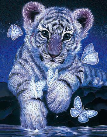 Malen nach Zahlen Bild Süßes Tigerbaby - AZ-3027 von Sonstiger Hersteller