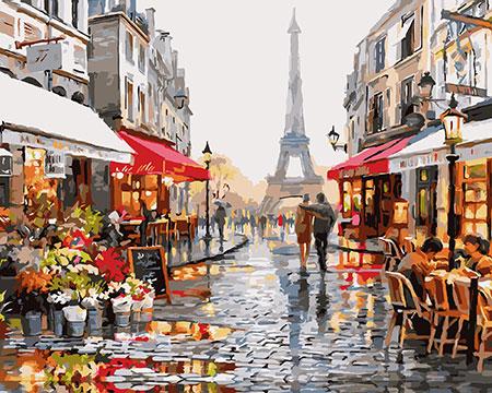 Abend in Paris