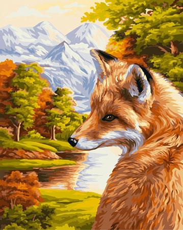 Fuchsportrait