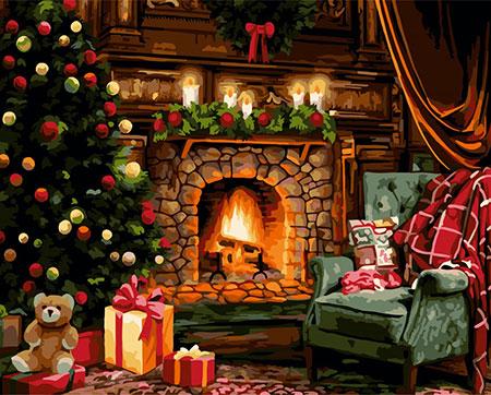 Malen nach Zahlen Bild Bereit für Weihnachten  - L043 von Artibalta