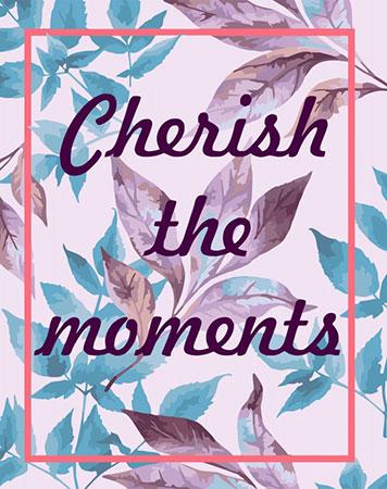 Malen nach Zahlen Bild Cherish the moments - T001 von Artibalta
