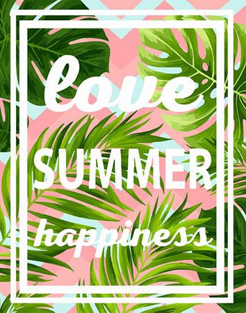 Malen nach Zahlen Bild Love, Summer, Happiness - T010 von Artibalta