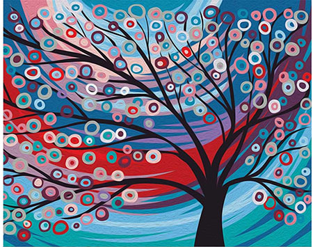 Malen nach Zahlen Bild Der Märchenbaum - T40500196 von Sonstiger Hersteller