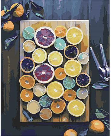 Malen nach Zahlen Bild Früchte-Mix - T40500307 von Sonstiger Hersteller