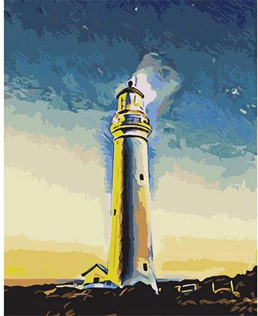 Malen nach Zahlen Bild Majestätischer Leuchtturm - T40500314 von Sonstiger Hersteller