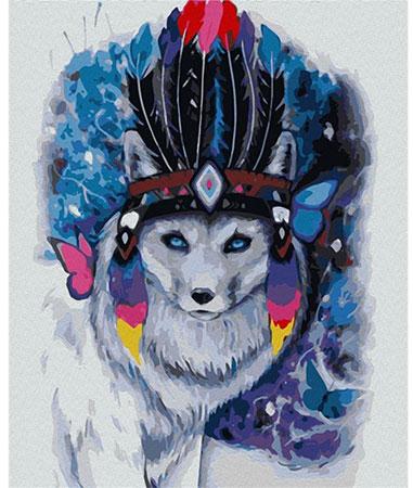 Mystischer Polarfuchs