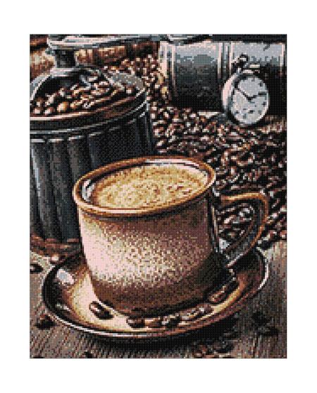 Malen nach Zahlen Bild Kaffeepause - WD044 von Sonstiger Hersteller
