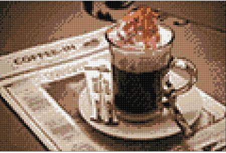 Malen nach Zahlen Bild Zeit für Kaffee - WD047 von Sonstiger Hersteller