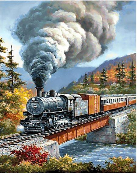 Rundfahrt mit der Eisenbahn