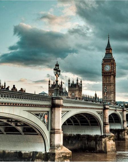 Malen nach Zahlen Bild Blick auf London - WD103 von Sonstiger Hersteller