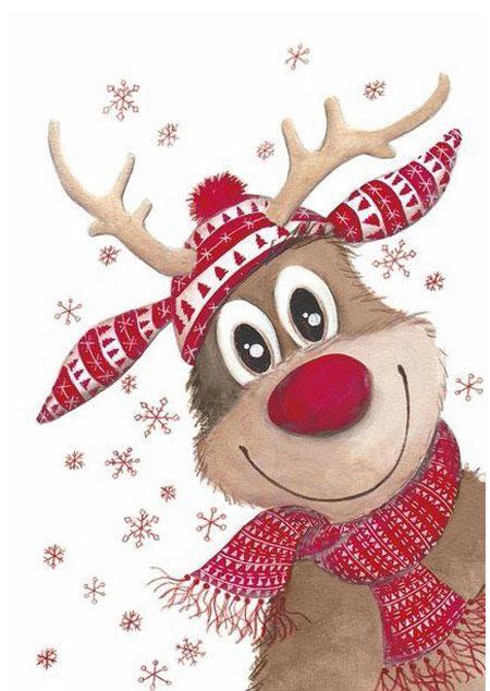 Malen nach Zahlen Bild Frohe Weihnacht! - WD109 von Sonstiger Hersteller