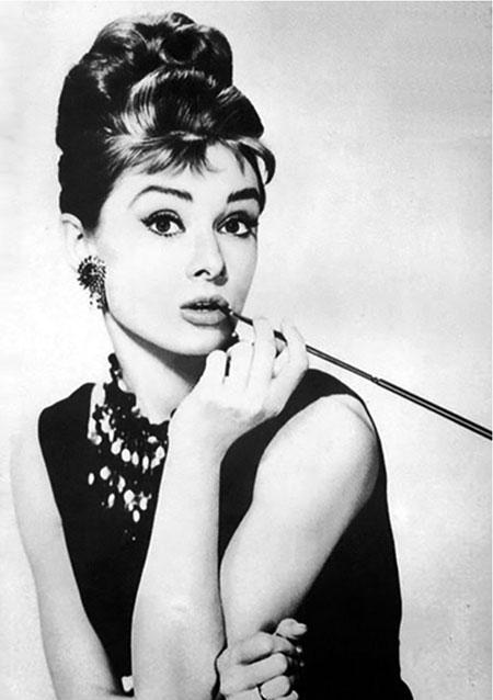 Malen nach Zahlen Bild Audrey Hepburn - WD132 von Sonstiger Hersteller