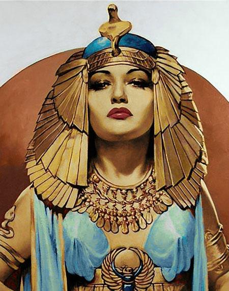 Malen nach Zahlen Bild Kleopatra - WD137 von Sonstiger Hersteller