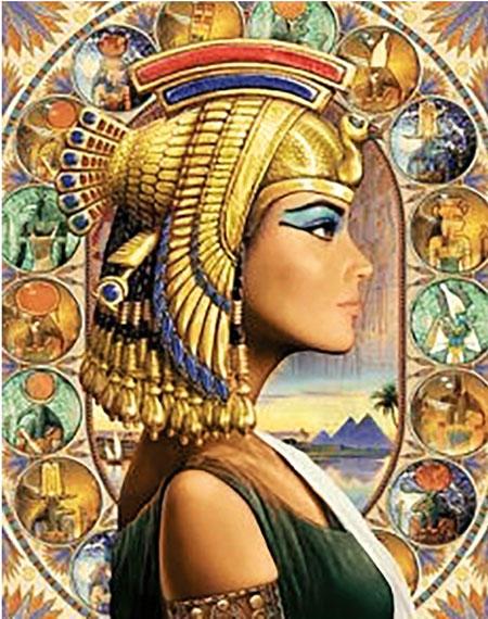 Malen nach Zahlen Bild Königin von Ägypten - WD139 von Sonstiger Hersteller