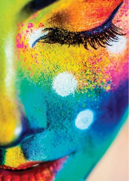 Malen nach Zahlen Bild Fest der Farben - WD149 von Sonstiger Hersteller