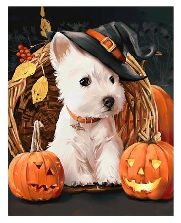 Malen nach Zahlen Bild Happy Halloween - WD188 von Sonstiger Hersteller