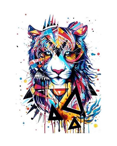 Magischer Tiger