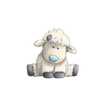 Malen nach Zahlen Bild Kleines Schaf - WD2370 von Sonstiger Hersteller