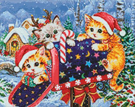 Malen nach Zahlen Bild Weihnachtspost - WD2423 von Sonstiger Hersteller