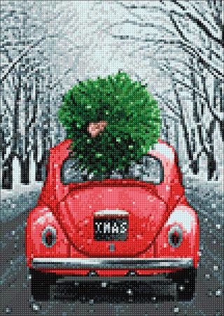 Malen nach Zahlen Bild Weihnachten ist im Anmarsch - WD2442 von Sonstiger Hersteller