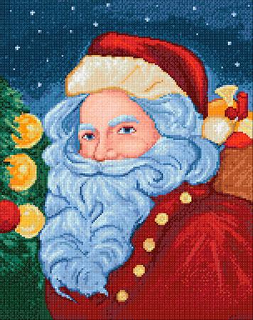 Malen nach Zahlen Bild Santa Claus - WD2463 von Sonstiger Hersteller
