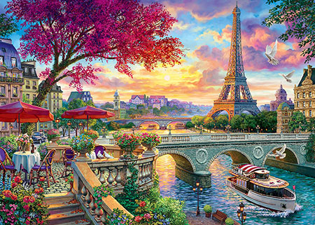 Malen nach Zahlen Bild Wunderschönes Paris - WD2500 von Artibalta