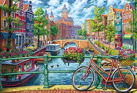 Malen nach Zahlen Bild Amsterdam - WD2501 von Artibalta