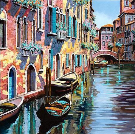 Malen nach Zahlen Bild Venedig - WD315 von Sonstiger Hersteller