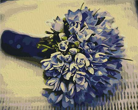 Malen nach Zahlen Bild Blumenbouquet - T40500326 von Sonstiger Hersteller